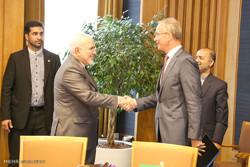 دیدار وزیر امور خارجه با وزیر اقتصاد هلند
