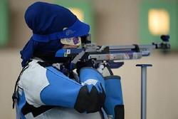 برگزاری رقابت های تیراندازی با تفنگ در شهرکرد