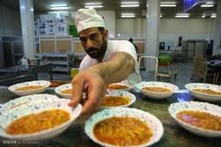 Hz. Masume (s.a) Türbesi'nde iftar yemeği
