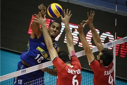 Brazil beats Iran in FIVB World League