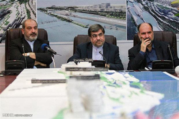 Unveiling of tourist complex plan in Qeshm Free Zone