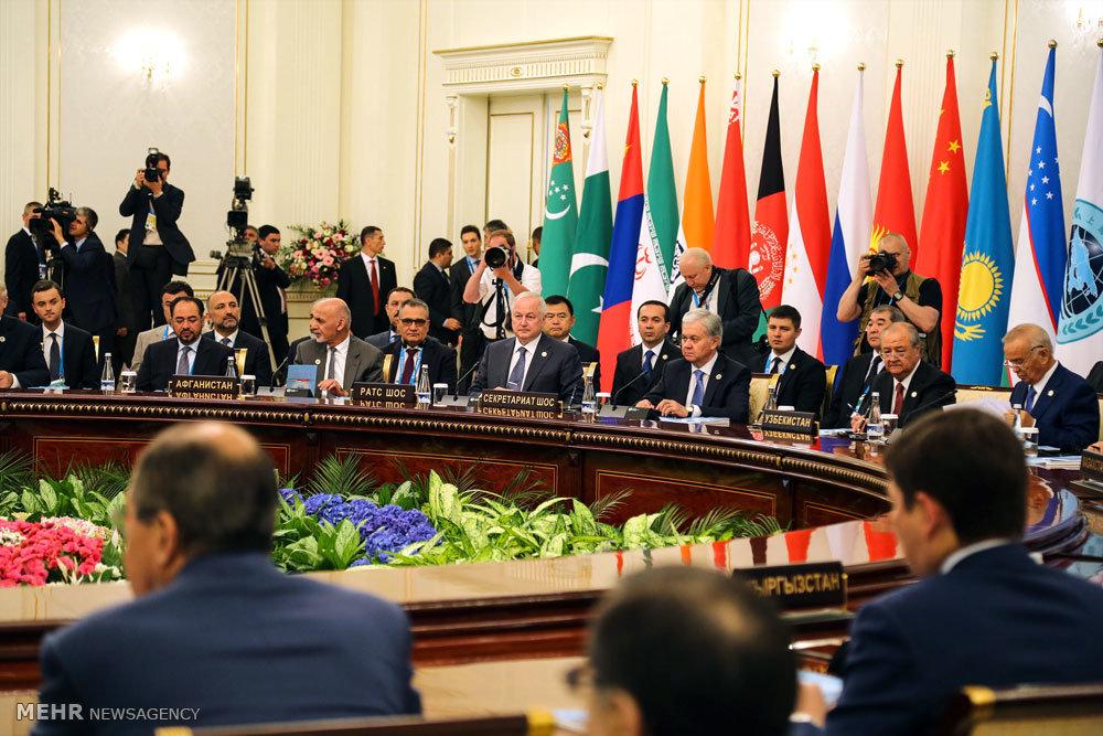 حضور وزیر امور خارجه در اجلاس سران سازمان همکاری شانگهای