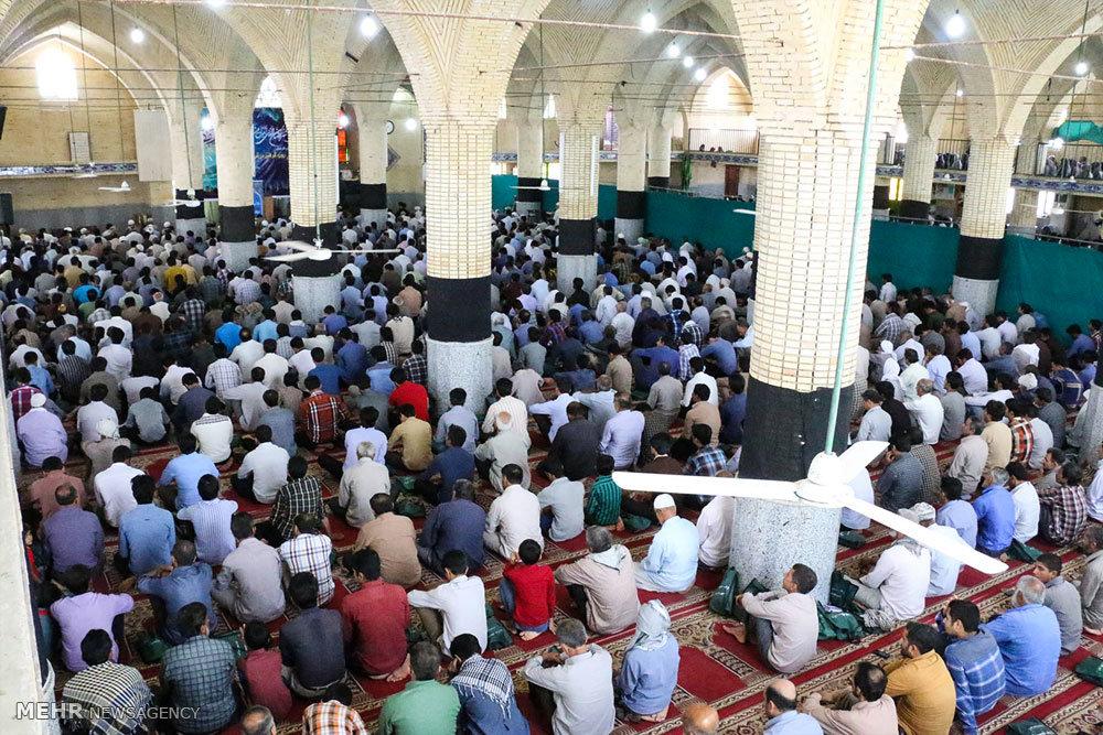 اقامه نماز جمعه در هشت بندی