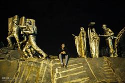 مراسم احیا شب نوزدهم رمضان باغ موزه دفاع مقدس همدان