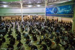 قم میں حضرت معصومہ سلام اللہ علیھا کے حرم میں شب قدر کی تقریب