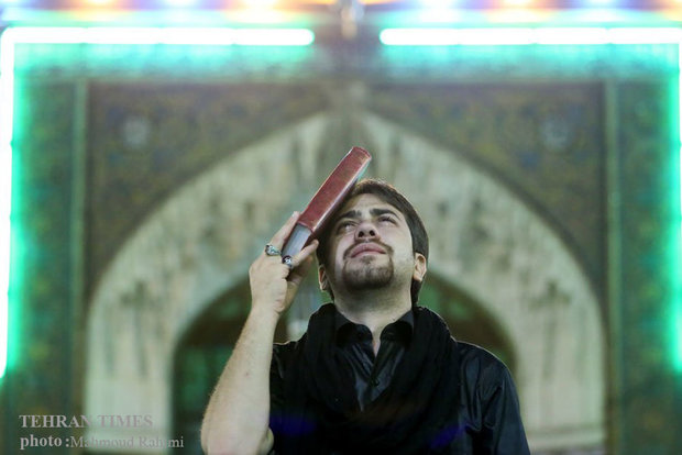 Night of Decree at Shah-Abdol-Azim shrine