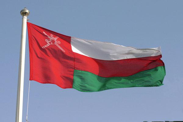 پرچم عمان