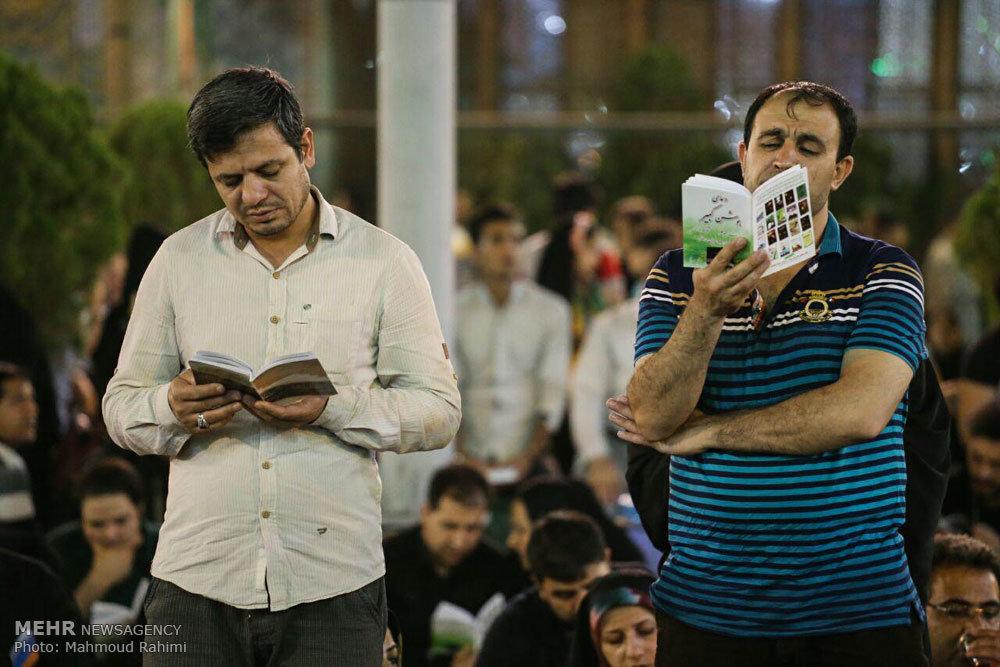 مراسم احیای شب نوزدهم ماه رمضان در حرم شاه عبدالعظیم الحسنی(ع)