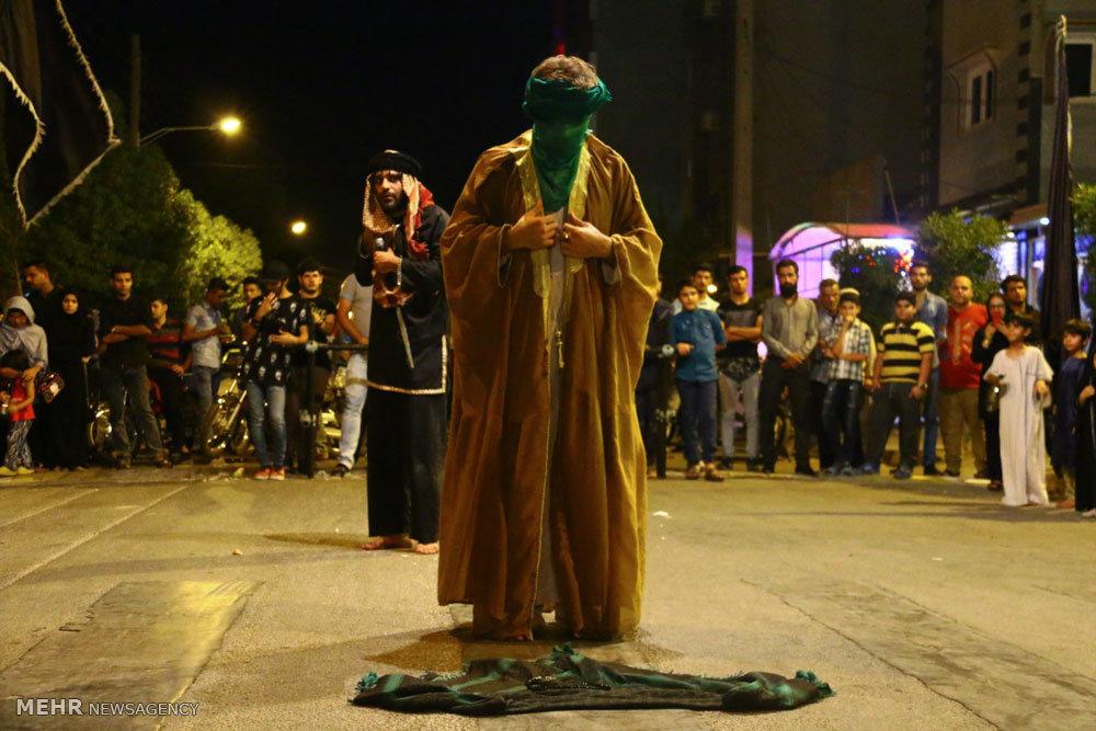 مراسم تعزیه شهادت حضرت علی (ع)