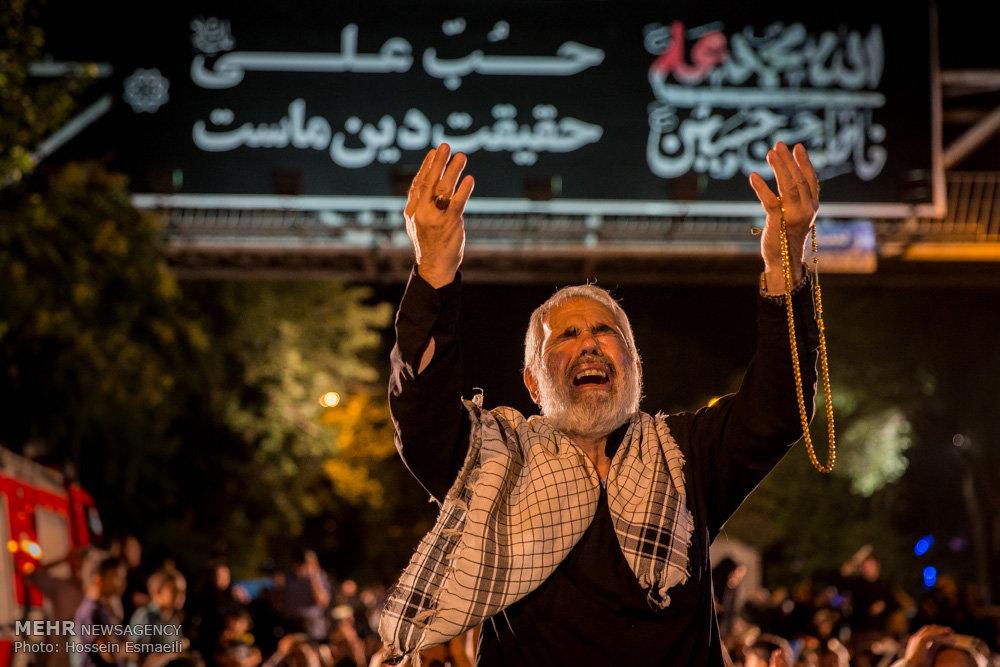 مراسم احیای شب نوزدهم ماه رمضان در حسینیه همدانیها