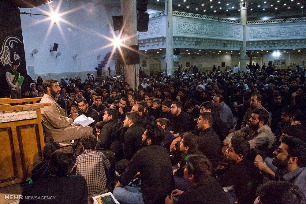 مراسم احیای شب نوزدهم ماه مبارک رمضان در مسجد حضرت زینب (س)