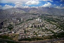 نمای کلی شهر تهران