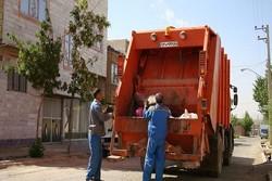 ادعای روی زمین ماندن زباله های تربت حیدریه کذب است