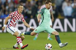 مشاهد من مباراة كرواتيا والبرتغال في كأس أمم اوروبا