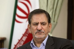 Iran's 1st VP congratulates counterparts on New Year