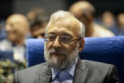 بزرگداشت شهدای هفتم تیر با حضور محمدجواد لاریجانی دبیر ستاد حقوق بشر قوه قضائیه