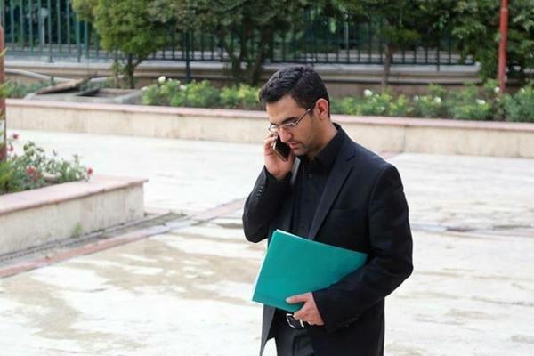 محمدجواد آذری جهرمی مدیرعامل شرکت ارتباطات زیرساخت