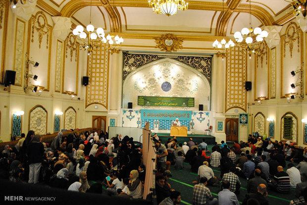 برنامه های ماه میهمانی خدا در مرکز اسلامی انگلیس