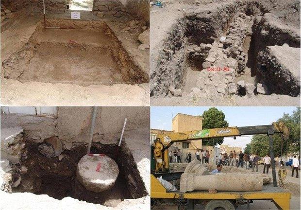 عملیات اجرایی کاوش «معبد لائودیسه» نهاوند آغاز شد