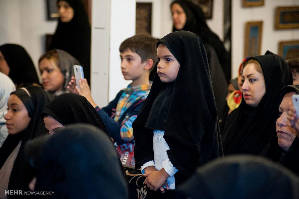 اجرای مراسم تعزیه در پنجمین نمایشگاه قرآن و عترت استان البرز