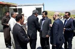 وزير في اقليم كردستان العراق يزور مدينة سردشت الايرانية