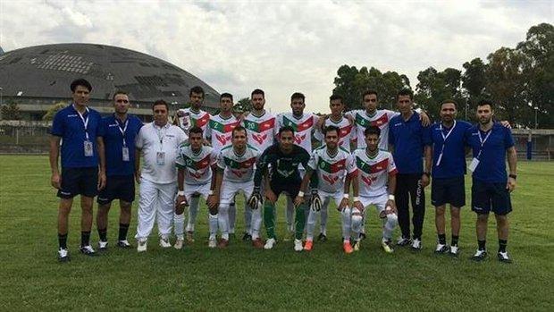 پیروزی تیم فوتبال ناشنوایان ایران مقابل سوئد مهدی هاموری  ۷ تیر ۱۳۹۵