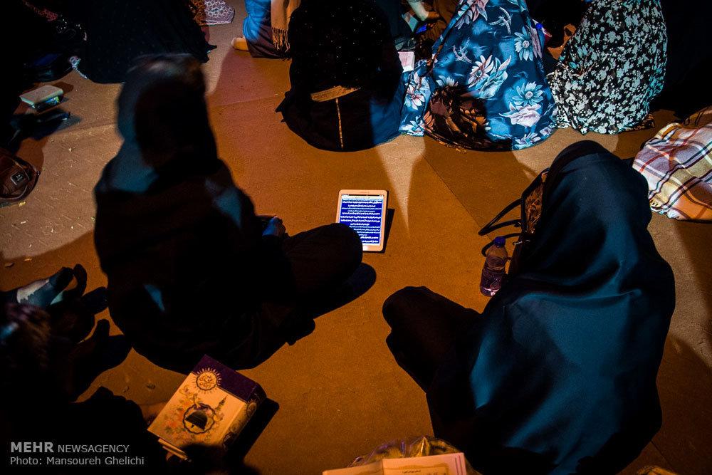 مراسم احیای شب بیست و یکم رمضان در شاهرود