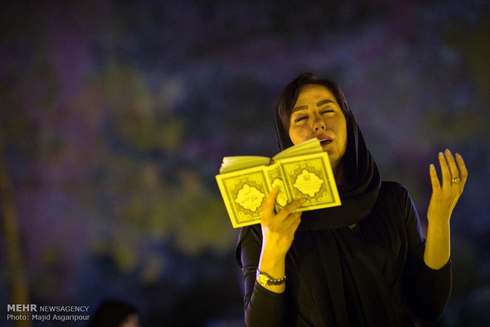 50 تصویر زیبا از مراسم احیای شب 21 رمضان در ایران
