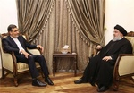 Iran's Jaberi Ansari meets Hezbollah chief in Beirut