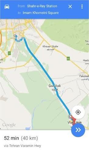 قرچک منطقه چند است یک میلیون جمعیت با یک مسیر دسترسی به تهران/جادهای که مشکل ...