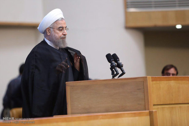 Rouhani urges Judiciary's transparency to people