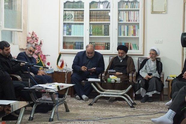 دیدار مجمع نمایندگان استان لرستان با نماینده ولی فقیه استان لرستان + عکس