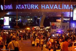 İstanbul Atatürk Havalimanı'nda patlama görüntüleri
