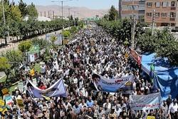 راهپیمایی روز قدس بجنورد