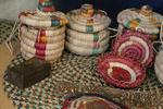 صنعتگران خوزستانی در کارگاه تخصصی حصیربافی آموزش میبینند