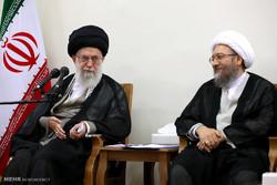 İnkılap Rehberi Yargı Erki yetkililerini kabul etti / Fotoğraf