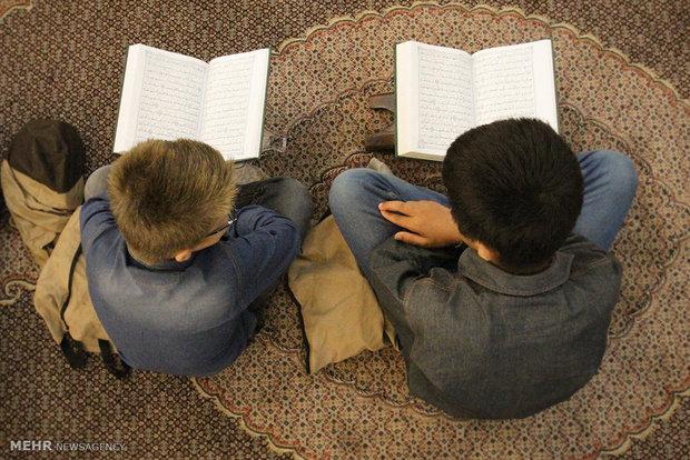 محفل انس با قرآن دانش آموزی در گرگان