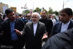 Iranian officials march on al-Quds Day