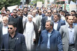 مشاركة كبار المسؤولين في مسيرات يوم القدس العالمي