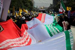 خروش ساکنان خراسان رضوی در حمایت از مردم مظلوم فلسطین