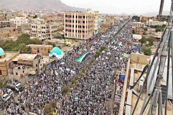 فلم/ یمن میں  سعودی عرب کی وحشیانہ و مجرمانہ بمباری کے سائے میں عید فطر