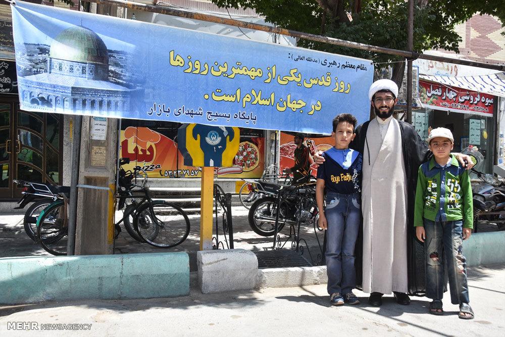 راهپیمایی روز جهانی قدس در شهرضا