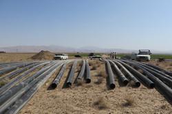 کشاورزی در شاهرود - انتقال آب - آبیاری نوین