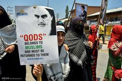 راهپیمایی روز جهانی قدس در سریناگار / کشمیر