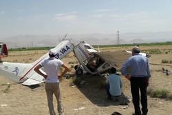 کراپشده - سقوط هواپیمای آموزشی