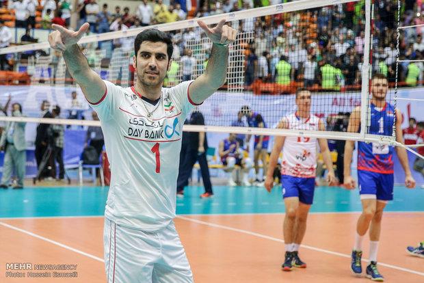 حاشیه دیدار تیم های ملی والیبال ایران و صربستان