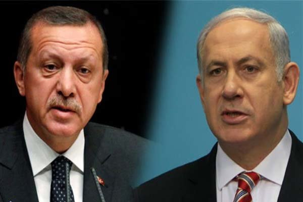 اردوغان و نتانیاهو