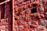 بررسی علل تخریب بخشی از دیوار قلعه پرتغالیها در جزیره هرمز