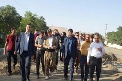 بازدیداعضای شورای شهر و شهردار سقز از پروژه های عمرانی سطح شهر