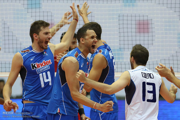 Iran fails to conquer Italy at FIVB World League